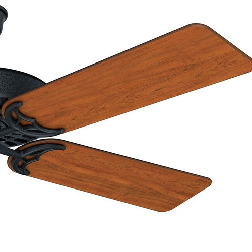 Hunter 23838 52 in. Outdoor Original Black Ceiling Fan image number 9
