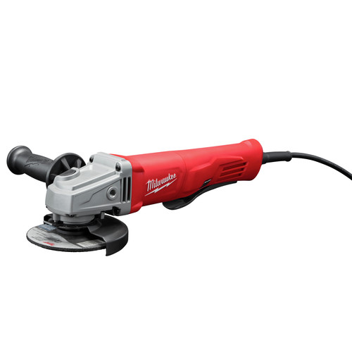 Factory Reconditioned Milwaukee 6142-830 4-1/2 in. Small Angle Grinder Lock-On