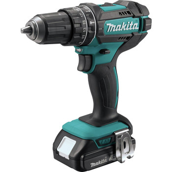 Factory Reconditioned Makita XPH10R-R 18V LXT Lithium-Ion Variable 2-Speed Compact 1/2 in. Cordless Hammer Drill Driver Kit (2 Ah) image number 1