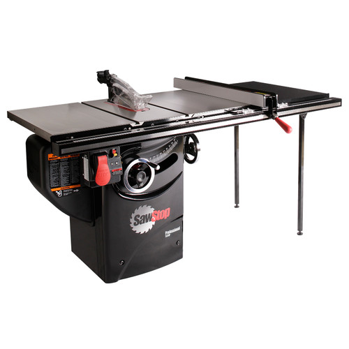 SawStop PCS31230-TGP236 220V Single Phase 3 HP 13 Amp 10 in. Professional Cabinet Saw with 36 in. Professional Series T-Glide Fence System