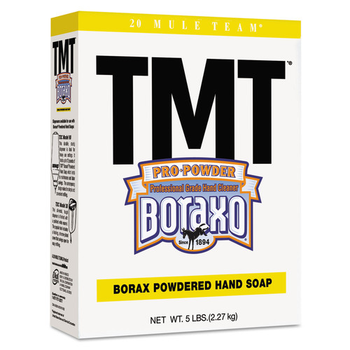 Boraxo 2561 10-Piece/Carton TMT 5 lbs. Box Unscented Powdered Hand Soap image number 0