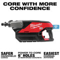 Milwaukee MXF301-2CP MX FUEL Brushless Lithium-Ion Handheld 6 in. Cordless Core Drill Kit (3 Ah) image number 3