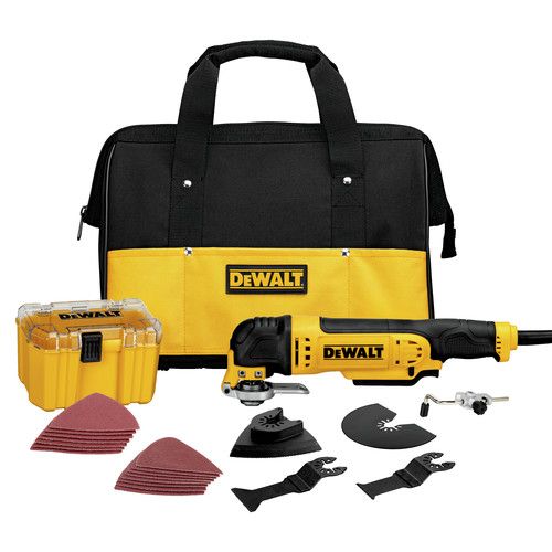 Factory Reconditioned Dewalt DWE315K 3 Amp Oscillating Tool Kit with 29 Accessories