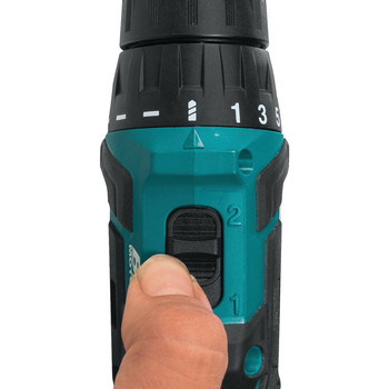 Makita FD07R1 12V max CXT Lithium-Ion Brushless 3/8 in. Cordless Drill Driver Kit (2 Ah) image number 2