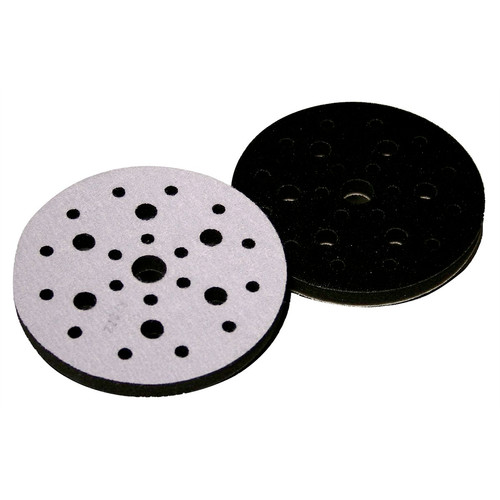 3M 5777 2-Piece Hookit 6 in. x 1/2 in. x 3/4 in. Soft Interface Pad Set image number 0