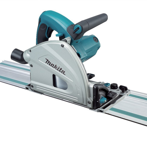 Makita SP6000J1 6-1/2 in. Plunge Circular Saw with 55 in. Guide Rail