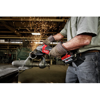 Milwaukee 2980-20 M18 FUEL 4-1/2 in. - 6 in. Braking Grinder with No-Lock Paddle Switch (Tool Only) image number 6