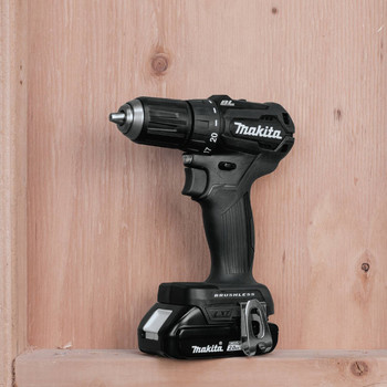 Makita XFD11R1B 18V LXT Lithium-Ion Brushless Sub-Compact 1/2 in. Cordless Drill Driver Kit (2 Ah) image number 5