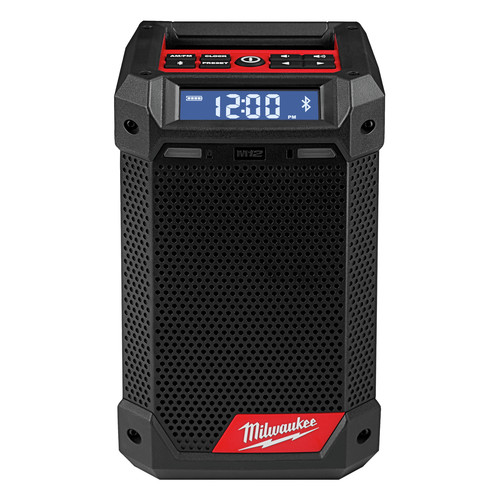 Milwaukee 2951-20 M12 Lithium-Ion Cordless Jobsite Radio/Bluetooth Speaker with Built-In Charger (Tool Only) image number 0