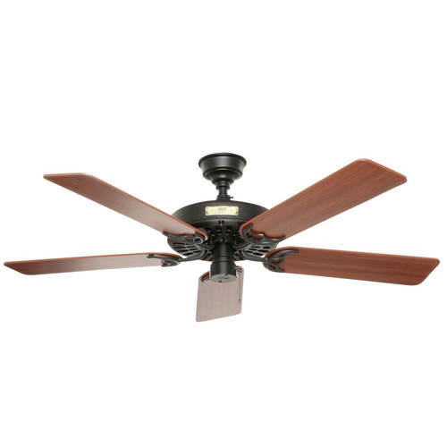 Hunter 23838 52 in. Outdoor Original Black Ceiling Fan image number 1
