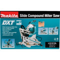 Makita LS1019L 10 in. Dual-Bevel Sliding Compound Miter Saw with Laser image number 11