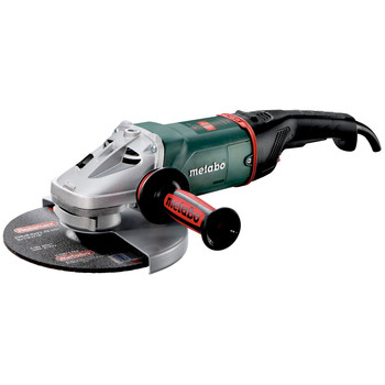 Metabo W24-230 9 in. 15 Amp MVT Angle Grinder with Deadman Switch