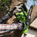 Greenworks 2000219 2000219 40V/12 in. Cordless Chainsaw with 2 Ah Battery and Charger image number 3
