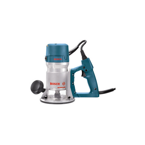 Factory Reconditioned Bosch 1618EVS-46 2.25 HP Fixed-Base Electronic D-Handle Router