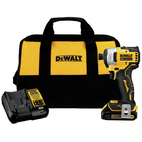 Dewalt DCF809C1 ATOMIC 20V MAX 1/4 in. Brushless Compact Impact Driver Kit image number 0