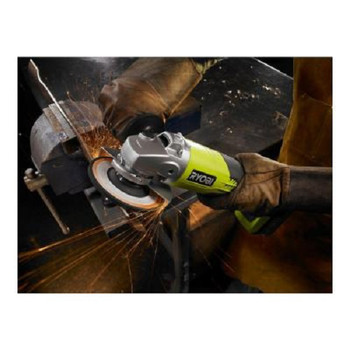 Factory Reconditioned Ryobi ZRP421 ONE Plus 18V Cordless Lithium-Ion 4-1/2 in. Angle Grinder (Tool Only) image number 2