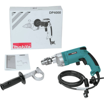 Makita DP4000 7 Amp 0 - 900 RPM Variable Speed 1/2 in. Corded Heavy Duty Drill image number 1