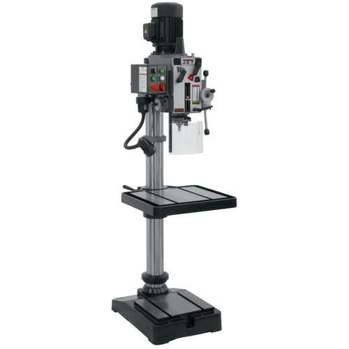 JET 354026 20 in. Geared Head Drill & Amp Tap Press image number 1