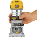 Dewalt DWP611 1-1/4 HP Variable Speed Premium Compact Router with LED image number 3