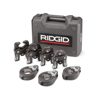 Ridgid 48553 Standard Jaws and Rings Kit for 1/2 in. to 2 in. Viega MegaPress Fitting System