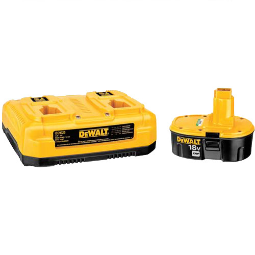 Dewalt DC9320BP 7.2V - 18V Multi-Voltage Dual Port Charger with XRP 18V