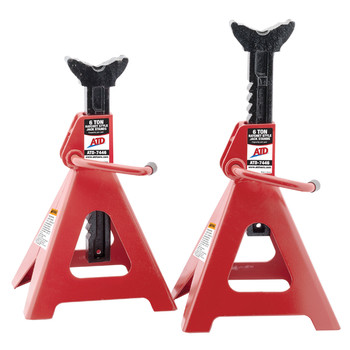 ATD 7446 6 Ton Ratchet Style Jack Stand Pair