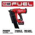 Milwaukee 2744-21 M18 FUEL 21-Degree Cordless Framing Nailer Kit (5 Ah) image number 3