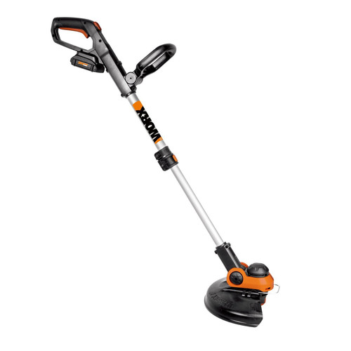 Worx GT 3.0 20V 3.0 Ah Cordless Lithium-Ion 12 in. Grass Trimmer/Edger with Command Feed