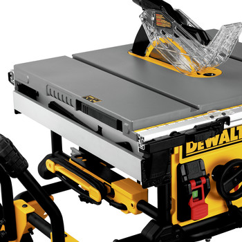Dewalt DWE7491RS 10 in. 15 Amp  Site-Pro Compact Jobsite Table Saw with Rolling Stand image number 11