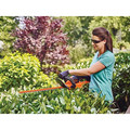 Black & Decker LHT341FF 40V MAX Cordless Lithium-Ion 24 in. POWERCUT Hedge Trimmer Kit image number 3