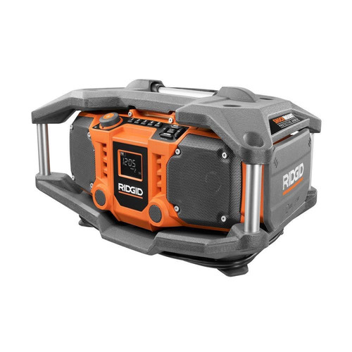 Factory Reconditioned Ridgid R84083 X4 18V Cordless Jobsite Radio with ShockMount Technology (Bare Tool)