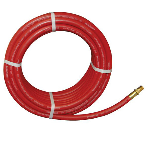 ATD 18050 GoodYear 3/8 in. x 50 ft. Two-Braid Rubber Air Hose image number 0