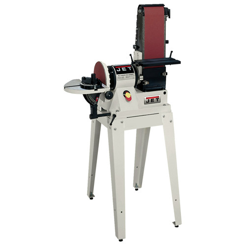 JET 708596K 6 in. x 48 in. Belt / 9 in. Disc Combination Sander with Open Stand image number 0