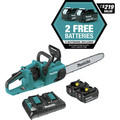 Makita XCU04PT1 18V X2 (36V) LXT Lithium-Ion Brushless 16 in. Cordless Chain Saw Kit (5 Ah) image number 1