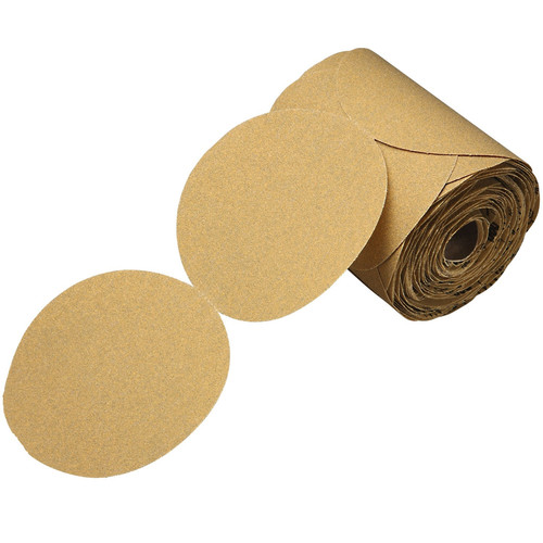 3M 1420 5 in. P320A Stikit Gold Disc Roll (175-Pack)