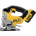 Dewalt DCS331M1 20V MAX Lithium-Ion 3000 SPM Cordless Jigsaw Kit (3 Ah) image number 2