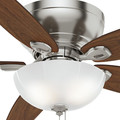 Casablanca 54101 Durant 54 in. Transitional Brushed Nickel Walnut Indoor Ceiling Fan image number 5
