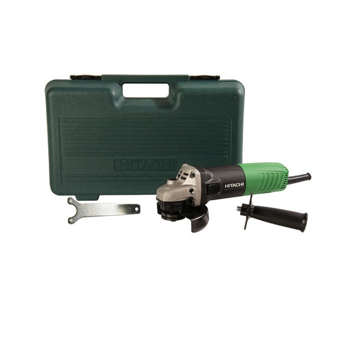 Factory Reconditioned Hitachi G12SR4 Hitachi G12SR4 4 1/2 in. Angle Grinder - 6.2 Amp