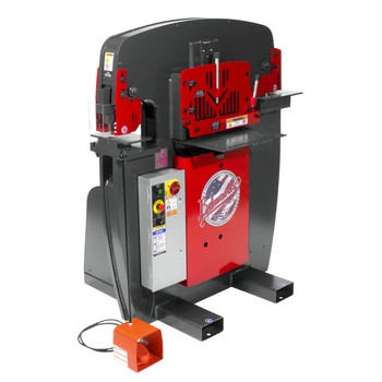 Edwards IW60-3P208-AC500 208V 3-Phase 60 Ton JAWS Ironworker with Hydraulic Accessory Pack