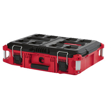 Milwaukee 48228426 & 48228425 & 48228424 PACKOUT 3 Piece Kit Rolling Tool Box, Large Tool Box, and Tool Box image number 3