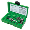 Greenlee 50006550 5-Piece Stainless Steel Carbide Tipped Hole Cutter Kit image number 1