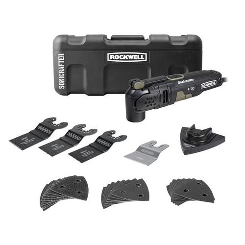 Rockwell F30 3.5 Amp Sonicrafter 32-Piece Kit