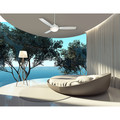 Casablanca 59153 44 in. Verse Fresh White Ceiling Fan with Light and Remote image number 4