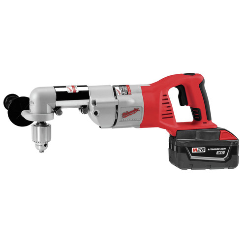 Factory Reconditioned Milwaukee 0721-81 28V Cordless M28 Lithium-Ion 1/2 in. Right Angle Drill with Case