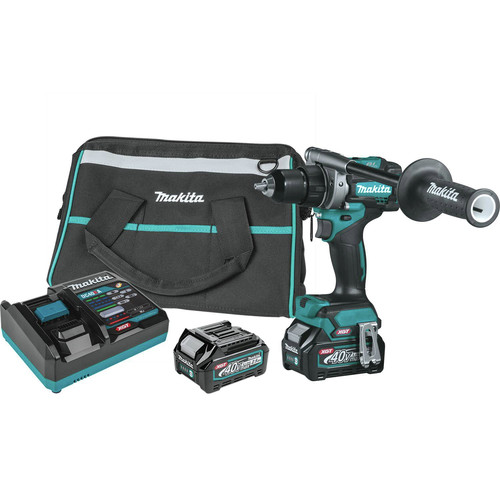 Makita GFD01D 40V Max XGT Brushless Lithium-Ion 1/2 in. Cordless Drill Driver Kit (2.5 Ah) image number 0