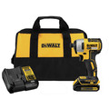 Factory Reconditioned Dewalt DCF787C1R 20V MAX Compact Brushless 1/4 in. Impact Driver