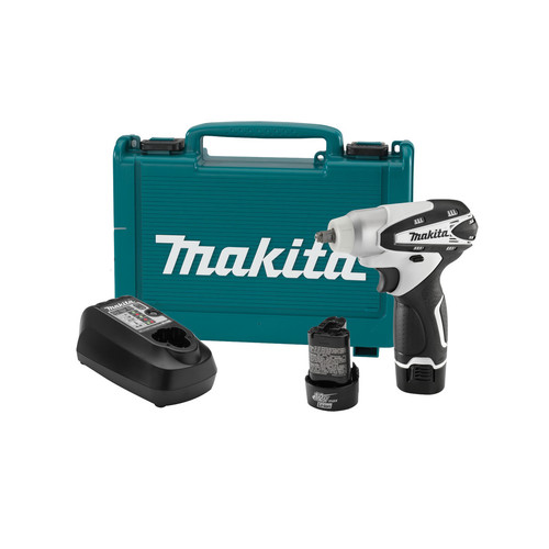 Makita WT01W 12V max Cordless Lithium-Ion 3/8 in. Impact Wrench Kit