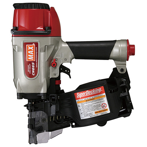 MAX CN665 2-1/2 in. x 0.131 in. SuperDecking Coil Decking Nailer