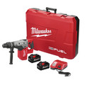 Milwaukee 2717-22HD M18 FUEL 9.0 Ah Cordless Lithium-Ion 1-9/16 in. Rotary Hammer Kit with 2 Batteries