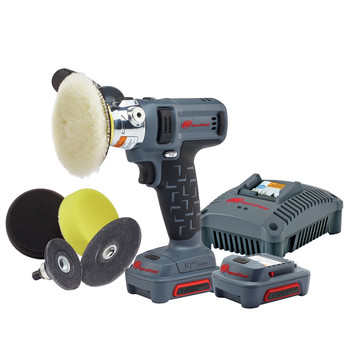 Ingersoll Rand G1621-K2 IQV12 Brushed Lithium-Ion 5/16 in. Cordless Polisher/Sander Kit (2 Ah)
